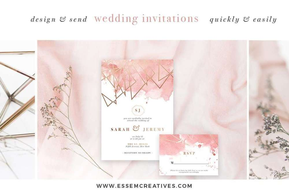 medium resolution of diy geometric watercolor wedding invitation backgrounds clipart table number decorations diy this set