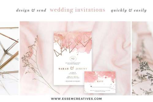 small resolution of diy geometric watercolor wedding invitation backgrounds clipart table number decorations diy this set