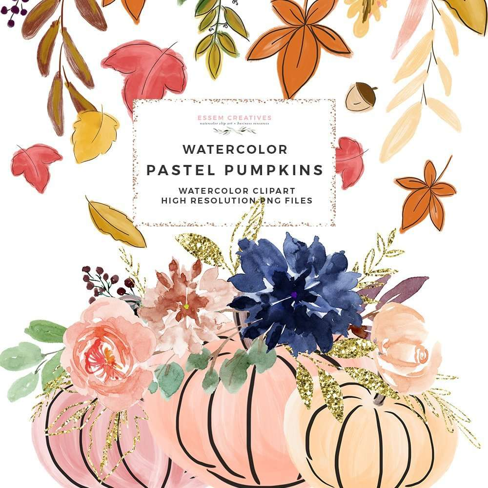 hight resolution of this is a set of fall pumpkins pumpkin vases autumn leaves and wreaths clipart