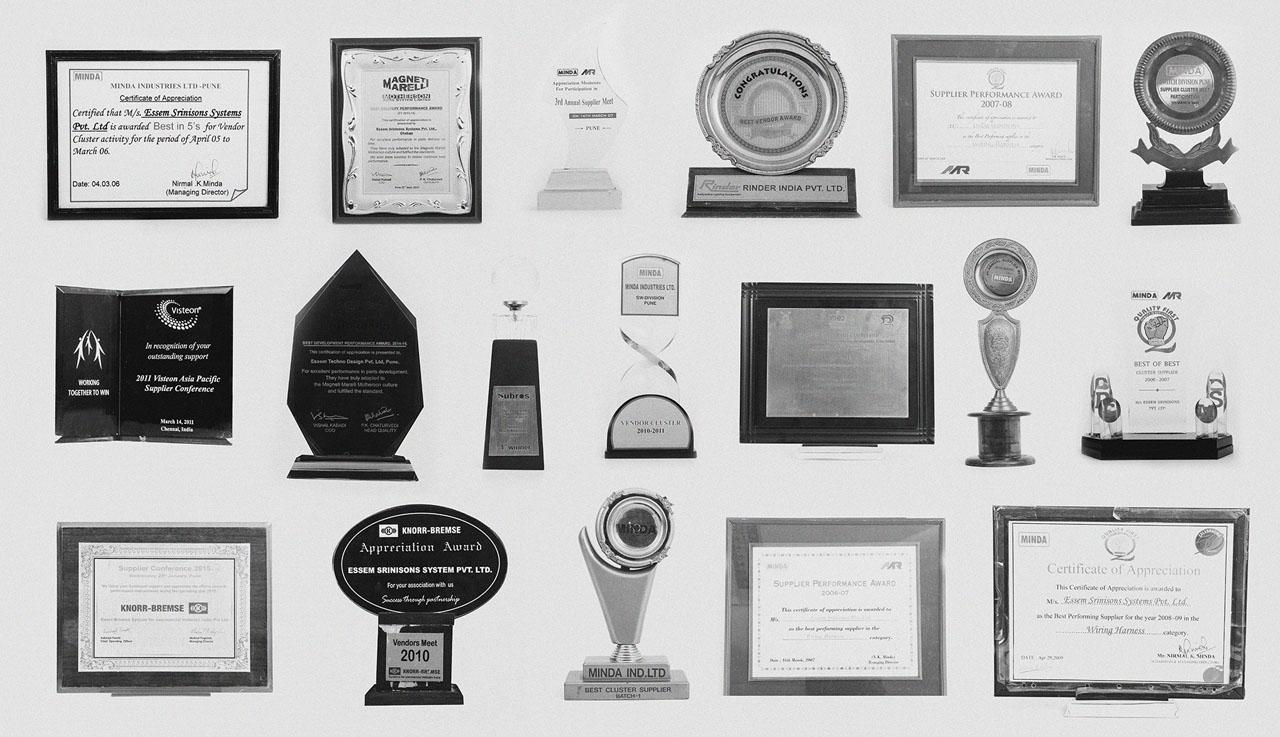 hight resolution of awards