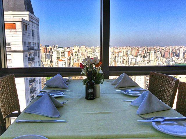 Restaurante Panorâmico em São Paulo (Foto: Esse Mundo É Nosso)