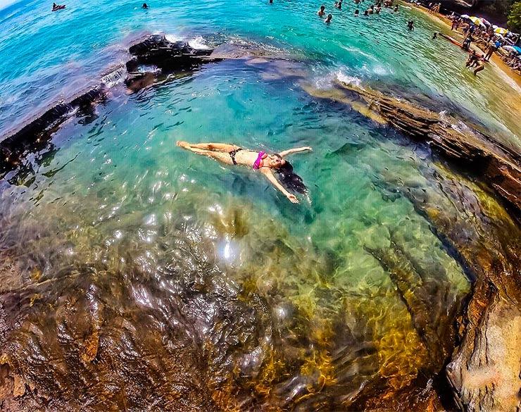 Praias paradisíacas do Sudeste (Foto: Beatriz Rodrigues/Instagram)