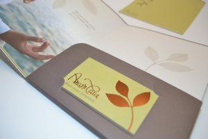 Anam Cara Business Card Design and Folder by Essence Design
