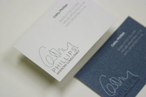 CathyPhillips Business Card Design by Essence Design