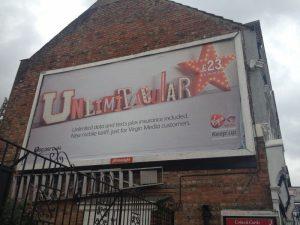 Brand Advert for Virgin Mobile