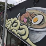 【手描き看板☆ロゴ・店舗内外塗装】@東京都あきる野市『麺処 薫』様