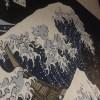 【和風壁画☆葛飾北斎・招き猫・狛犬】@東京都東村山市『骨董 大福屋』様☆