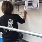 【手描き壁画★girlyフィットネス】@東京都港区芝浦『AMFKITCHEN』様