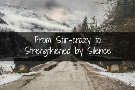 From Stir-Crazy to Strengthened by Stillness: Learning to Just Be