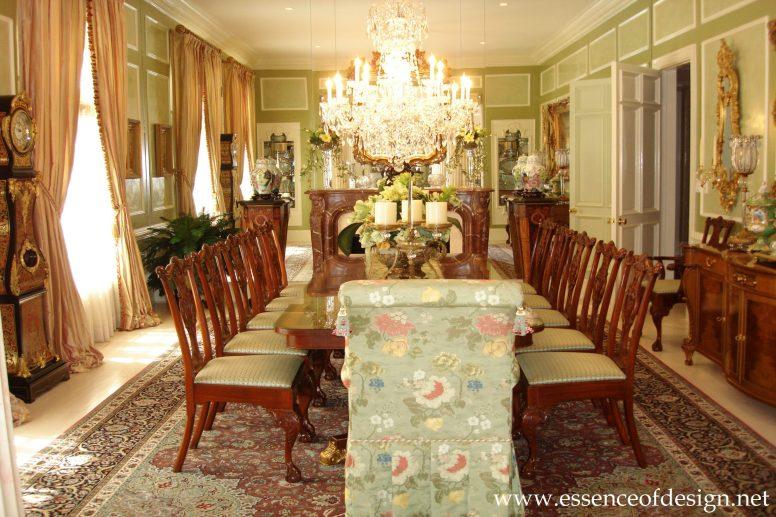 Potomac-MD-interior-designer-Shiva-Rostami-dining-room-mclean-virginia-traditional-marblex-walls