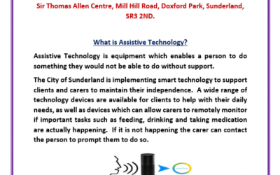 Assistive technology presentation at the Essence Centre in September.