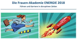 BEW-Frauen-Akademie ENERGIE 13.-14.03.2018
