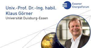 Vortrag: Sektorenkopplung – Herausforderungen und Potentiale