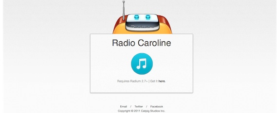 Radium2 Review : Radium, a slim, menu bar based internet radio player