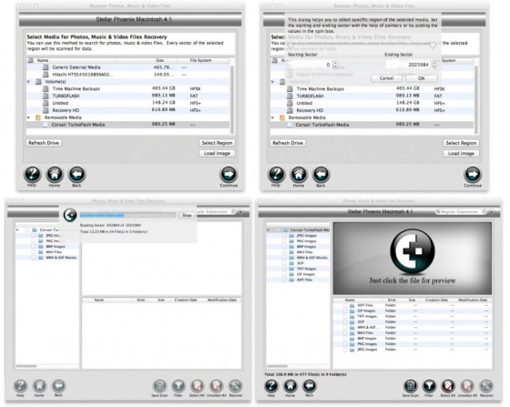 Stella Phoenix Photo Recovery 1a1 1024x818 Review : Stellar Phoenix Mac Data Recovery