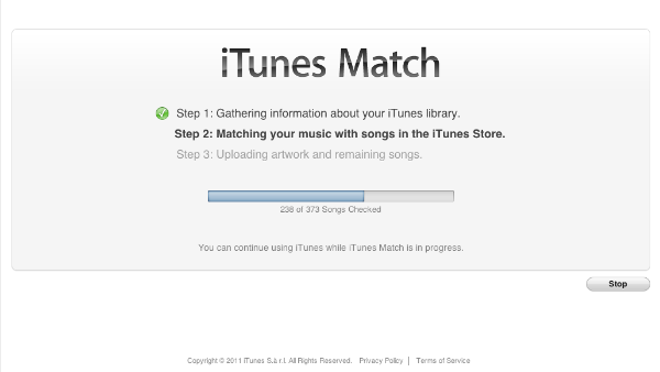 iTunes Match Gathering Information iTunes Match Now Available in the UK