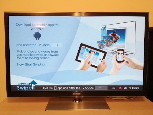 Samsung Swipeit Samsung Swipeit to Rival Apple Airplay