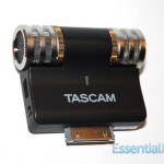 First Look : Tascam iM2 Condensor Microphone for iOS