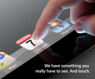 ipad3invites Apple confirms iPad 3 launch event for March 7