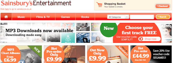 Sainsbury's Entertainment To Rival Apple iTunes?