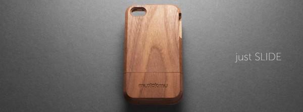 mu mu SLIDE THIN 600x223 mu mu set to release the SLIDE THIN, a gorgeous hardwood iPhone case