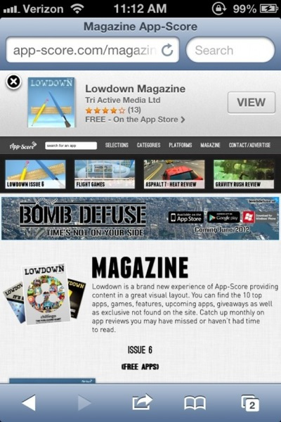 ios 6 beta 2 Safari Smart Banners iOS 6 Beta 2 Released : Heres Whats New.