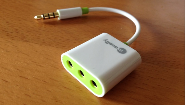 MacAlly Audio 3 Reviewed : Macally Audio3 3 Way Headphone Splitter