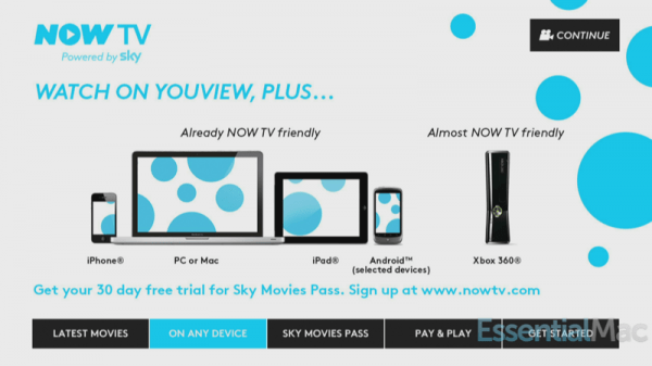 Sky Now TV On Any Device 600x337 Skys Now TV Arrives on YouView