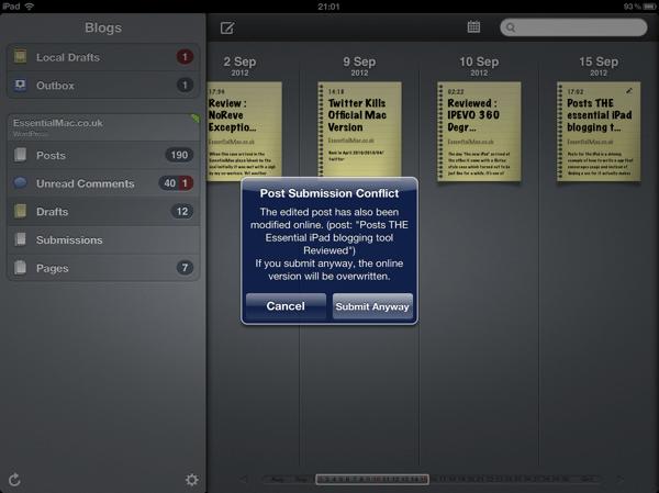 20635A8A 5359 4A4A A54F BA7545926DD1 Posts THE Essential iPad blogging tool Reviewed