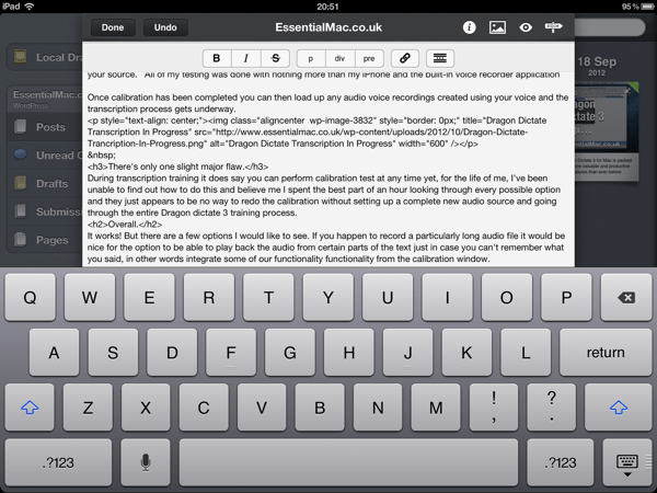 D3570056 C316 4993 B74F 303EF3BFAA00 Posts THE Essential iPad blogging tool Reviewed