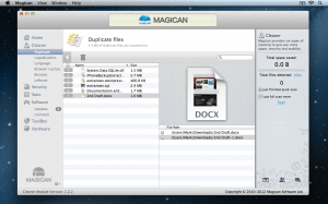 Magican Duplicates Part 2 300x187 Magican 1.3.1 Review : Helping Clean Your Mac & Protect Against Mac Trojans