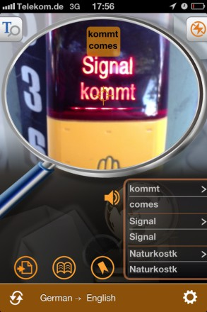 Worldictionary stopsign 293x440 Worldictionary iPhone App Review   Instant Translation And Search