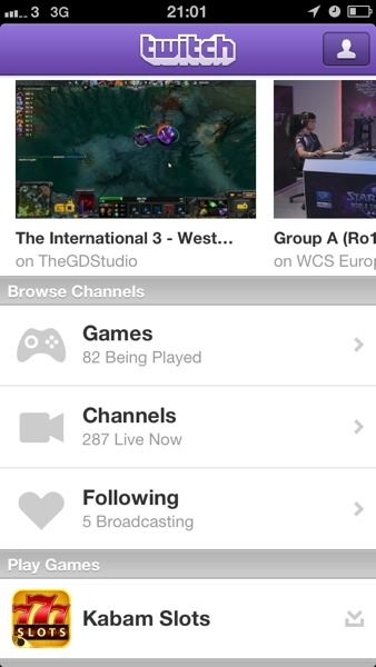 1368561756 Twitch.tv Version 2.3.3. Less Features, More Adverts, Same Blank Video Streams