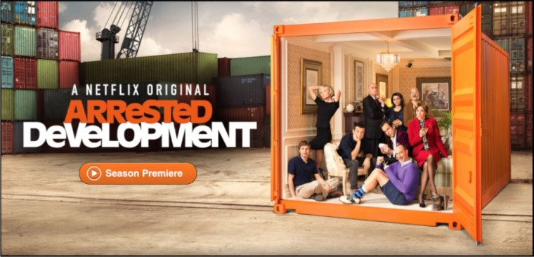 NetFlix Arrested Development Season 4 The Only Reason You Need For Netflix, Arrested Development Season 4 Now Streaming.