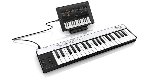 iRig KEYS iRig Keys The First Lightning Port Compatible Music Keyboard
