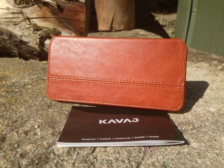 Kavaj Leather Dallas Case Hero Image KAVAJ Leather iPhone Case Dallas in Cognac Brown First Look.