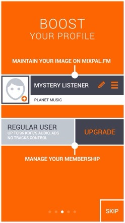 20131209 111631 MixPal.FM iOS App   Streaming radio handpicked, mixed and playlisted by music experts
