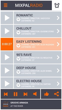 20131209 123708 MixPal.FM iOS App   Streaming radio handpicked, mixed and playlisted by music experts