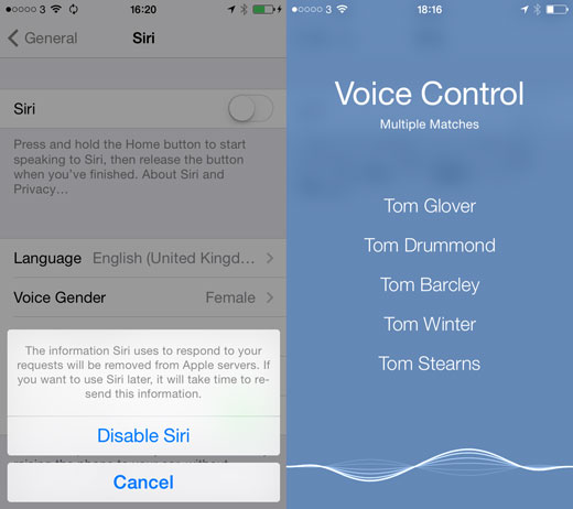 How To Get Back Siri's Old Voices in iOS 7 1 |