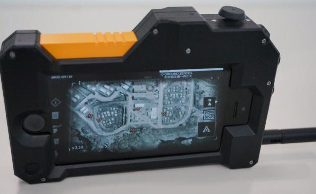 Ground Zeros iDroid iPhone Case Metal Gear Solid iDroid iPhone Case