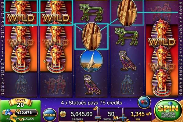 Slots pharaoh's way money bug