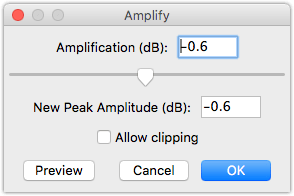 Audacity Amplification How to make your podcasts sound better with GarageBand