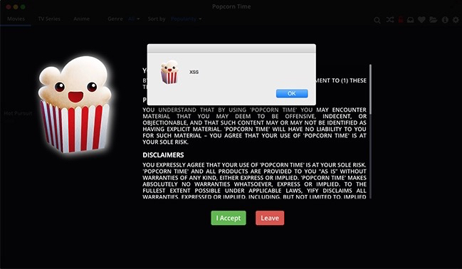 Torrent Freak Warns That Popcorn Time Vulnerability Can Let Hackers Take Control Of Your Computer