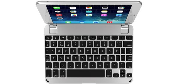 BrydeKeyboards Brydge Mini above Brydge Keyboards Release BrydgeMini. A Stunning Aluminium Keyboard for The iPad Mini