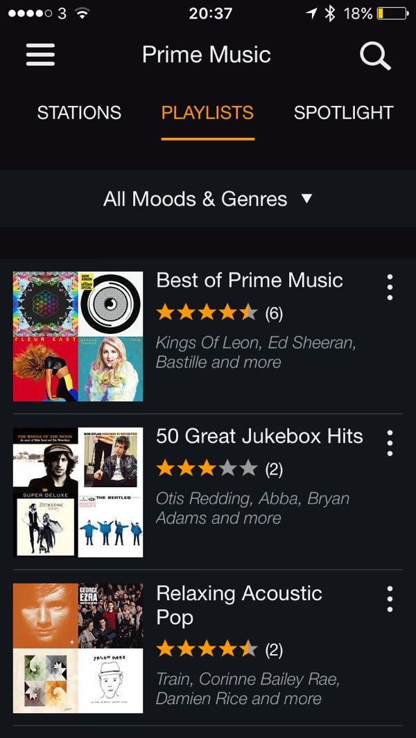 Amazon Prime iPhone Amazon Prime Radio. Adding More Value to Primes offering