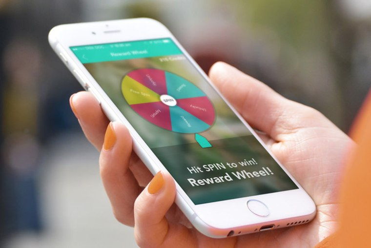 Bounts Reward Wheel Bounts Review : Get Paid For Walking
