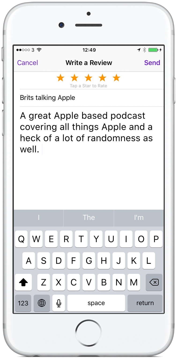 How To Leave A Podcast Review On Your iPhone How To Leave A Podcast Review Using Your iPhone