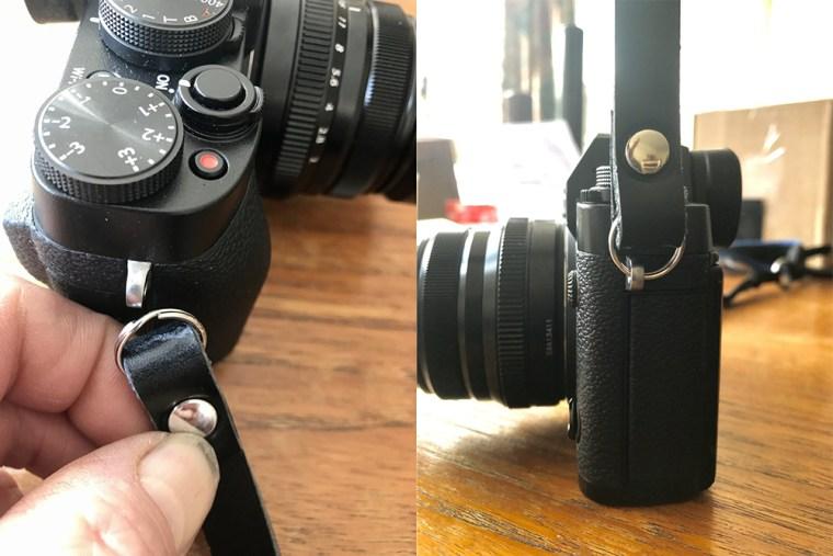 """595Strapco Page 2 Image 0002 copy 595Strapco Handmade Classic Leather 36"""" Camera Neck Strap"""