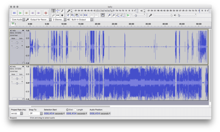 Audacity How I record and edit the Essential Apple Podcast
