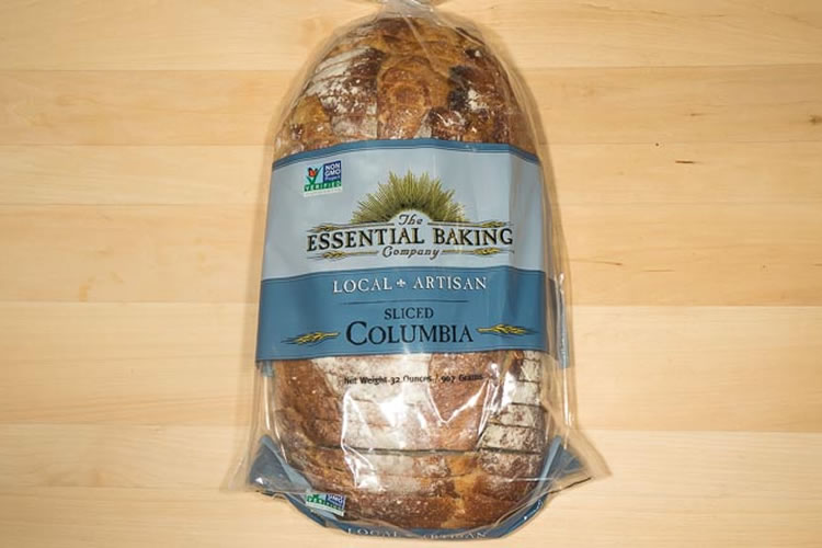 Sliced Columbia Bread